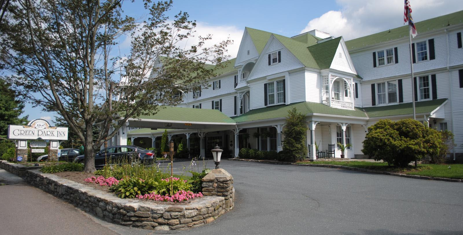 Image of hotel exterior at Green Park Inn, 1891, Member of Historic Hotels of America, in Blowing Rock, North Carolina, Special Offers, Discounted Rates, Families, Romantic Escape, Honeymoons, Anniversaries, Reunions
