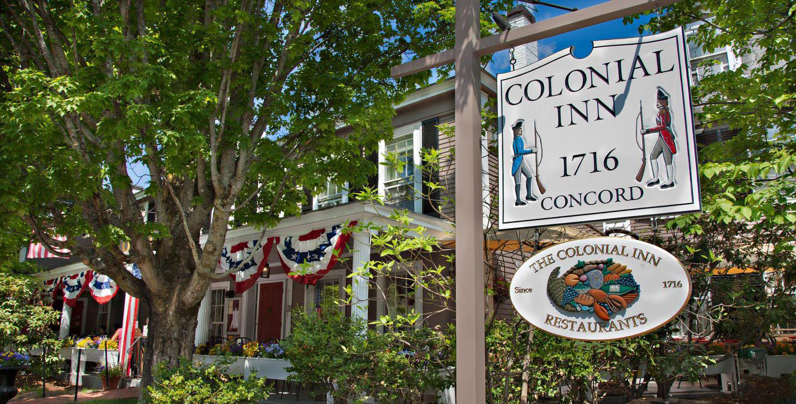 Image of Hotel Exterior at Concord's Colonial Inn, 1716, Member of Historic Hotels of America, in Concord, Massachusetts Special Offers, Discounted Rates, Families, Romantic Escape, Honeymoons, Anniversaries, Reunions