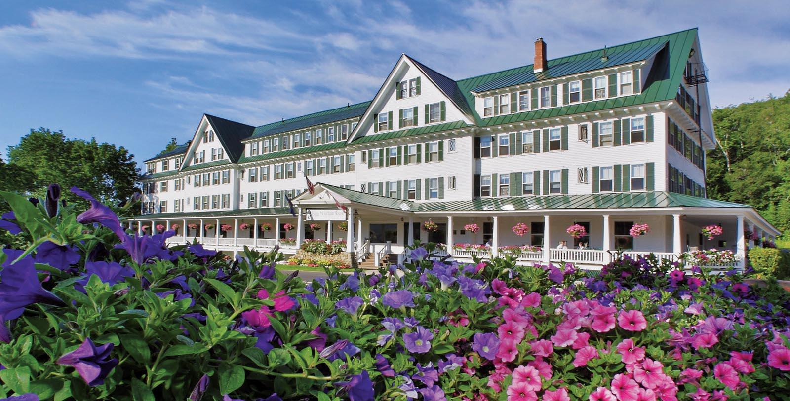 Image of Hotel exterior at Eagle Mountain House, 1879, Member of Historic Hotels of America, in Jackson, New Hampshire, Special Offers, Discounted Rates, Families, Romantic Escape, Honeymoons, Anniversaries, Reunions