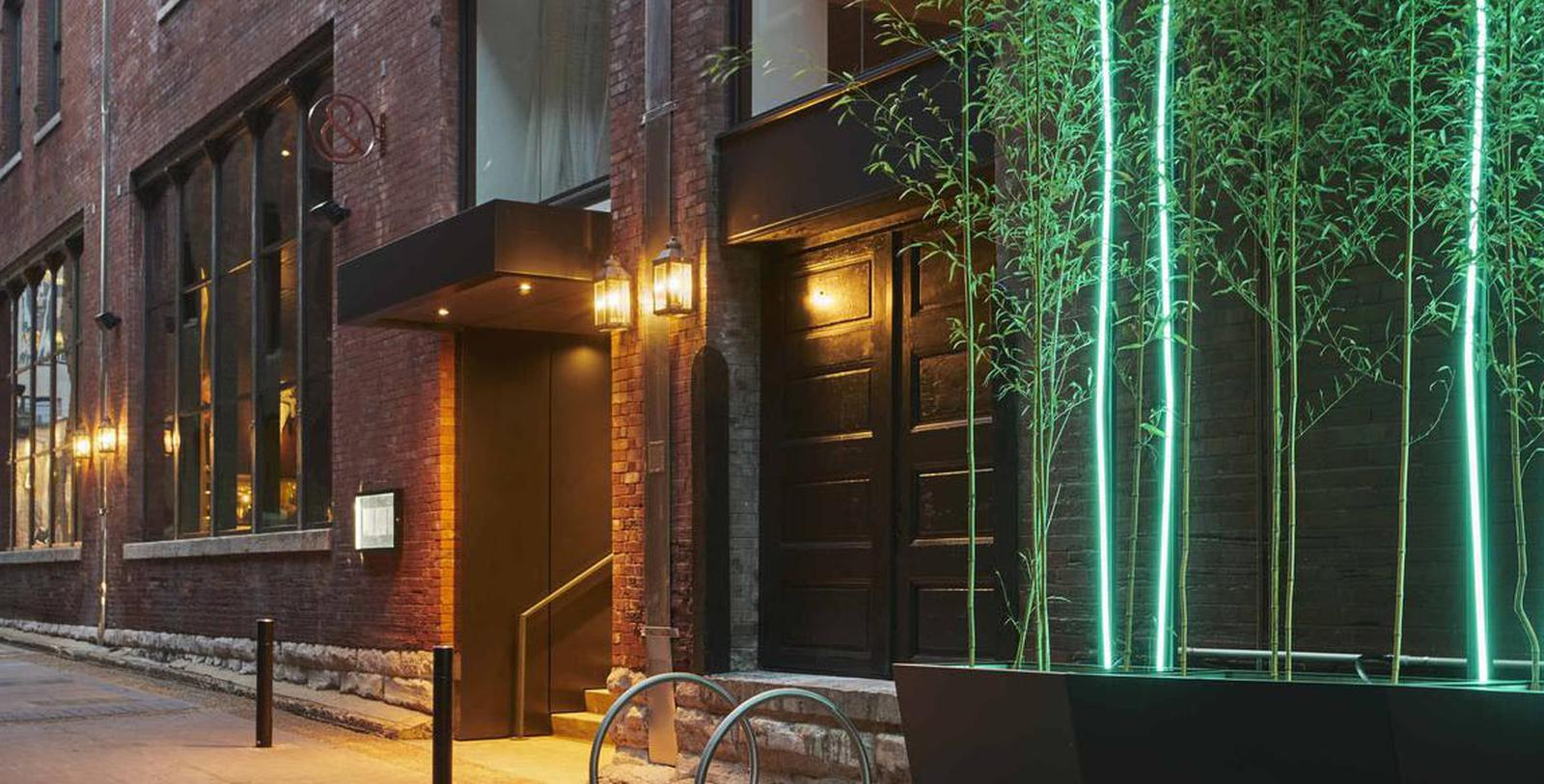 Image of hotel exterior 21c Museum Hotel Nashville by MGallery, 1900, Member of Historic Hotels of America, in Nashville, Tennessee, Special Offers, Discounted Rates, Families, Romantic Escape, Honeymoons, Anniversaries, Reunions