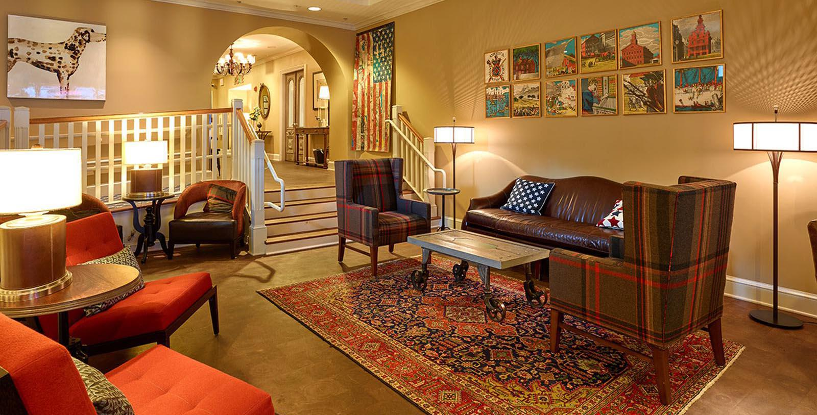 Image of Seating Area The Kendall Hotel, 1894, Member of Historic Hotels of America, in Cambridge, Massachusetts, Special Offers, Discounted Rates, Families, Romantic Escape, Honeymoons, Anniversaries, Reunions