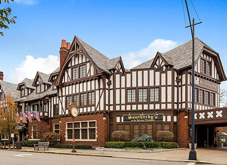 Image of Hotel Exterior at Best Western Mariemont Inn, 1926, Member of Historic Hotels of America, in Cincinnati, Ohio, Special Offers, Discounted Rates, Families, Romantic Escape, Honeymoons, Anniversaries, Reunions