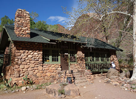 Image of Dining Area at Phantom Ranch, 1922, Member of Historic Hotels of America, in Grand Canyon National Park, Arizona, Special Offers, Discounted Rates, Families, Romantic Escape, Honeymoons, Anniversaries, Reunions