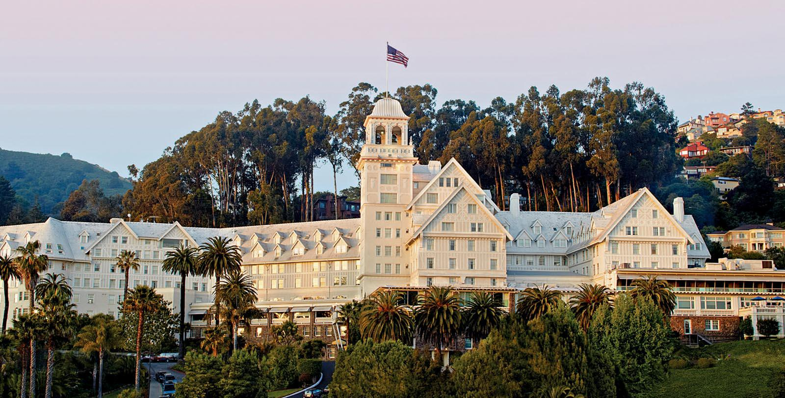 Image of Hotel exterior at Claremont Club & Spa, 1915, A Fairmont Hotel, Member of Historic Hotels of America, in Berkeley, California, Special Offers, Discounted Rates, Families, Romantic Escape, Honeymoons, Anniversaries, Reunions