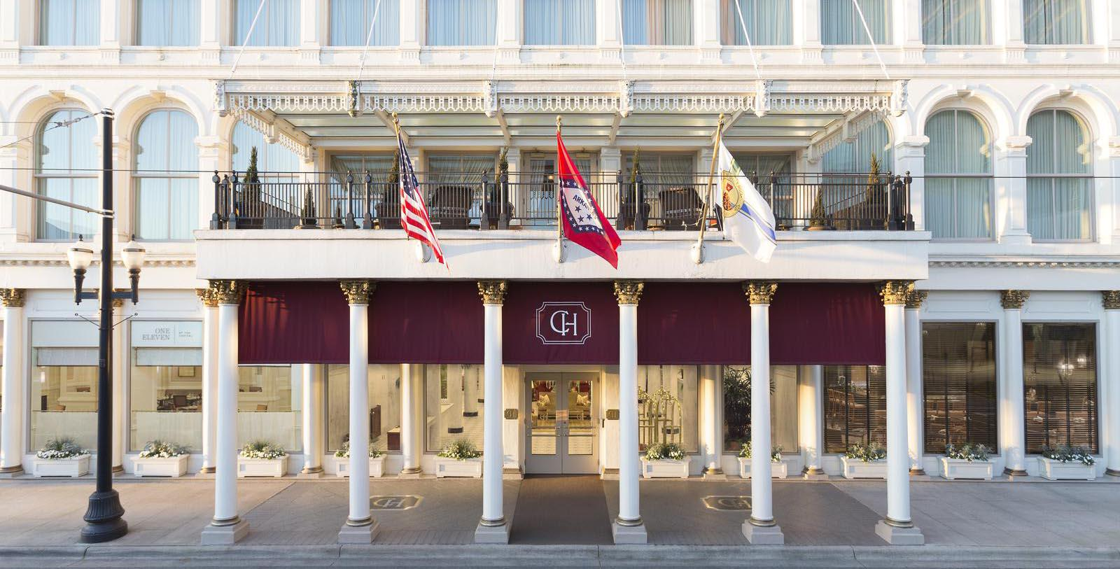 Image of Hotel Exterior at Capital Hotel, 1873, Member of Historic Hotels of America, in Little Rock, Arkansas, Special Offers, Discounted Rates, Families, Romantic Escape, Honeymoons, Anniversaries, Reunions