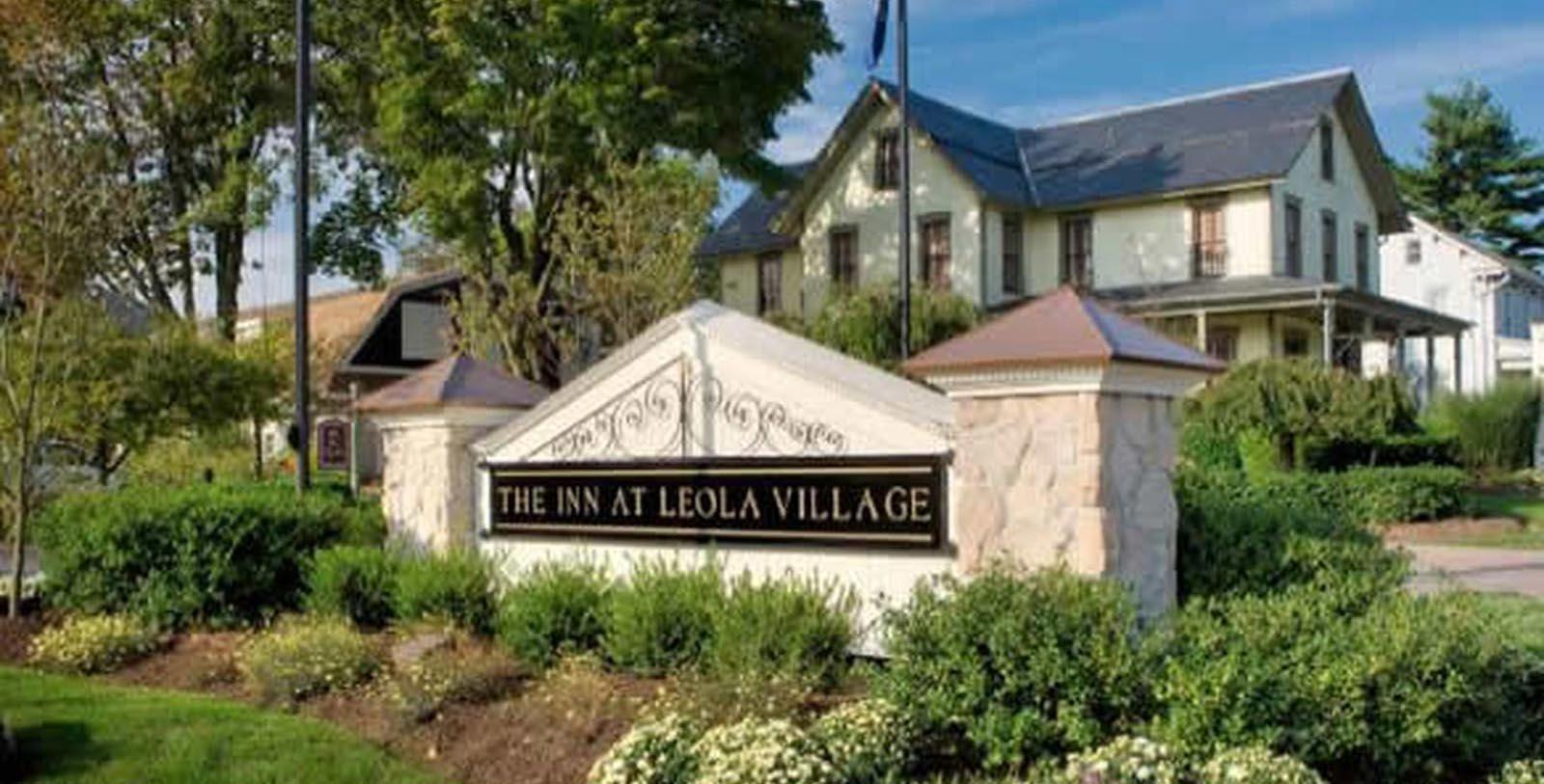 Image of Entrance The Inn at Leola Village, Est. 1867, 1867, Member of Historic Hotels of America, in Leola, Pennsylvania, Special Offers, Discounted Rates, Families, Romantic Escape, Honeymoons, Anniversaries, Reunions
