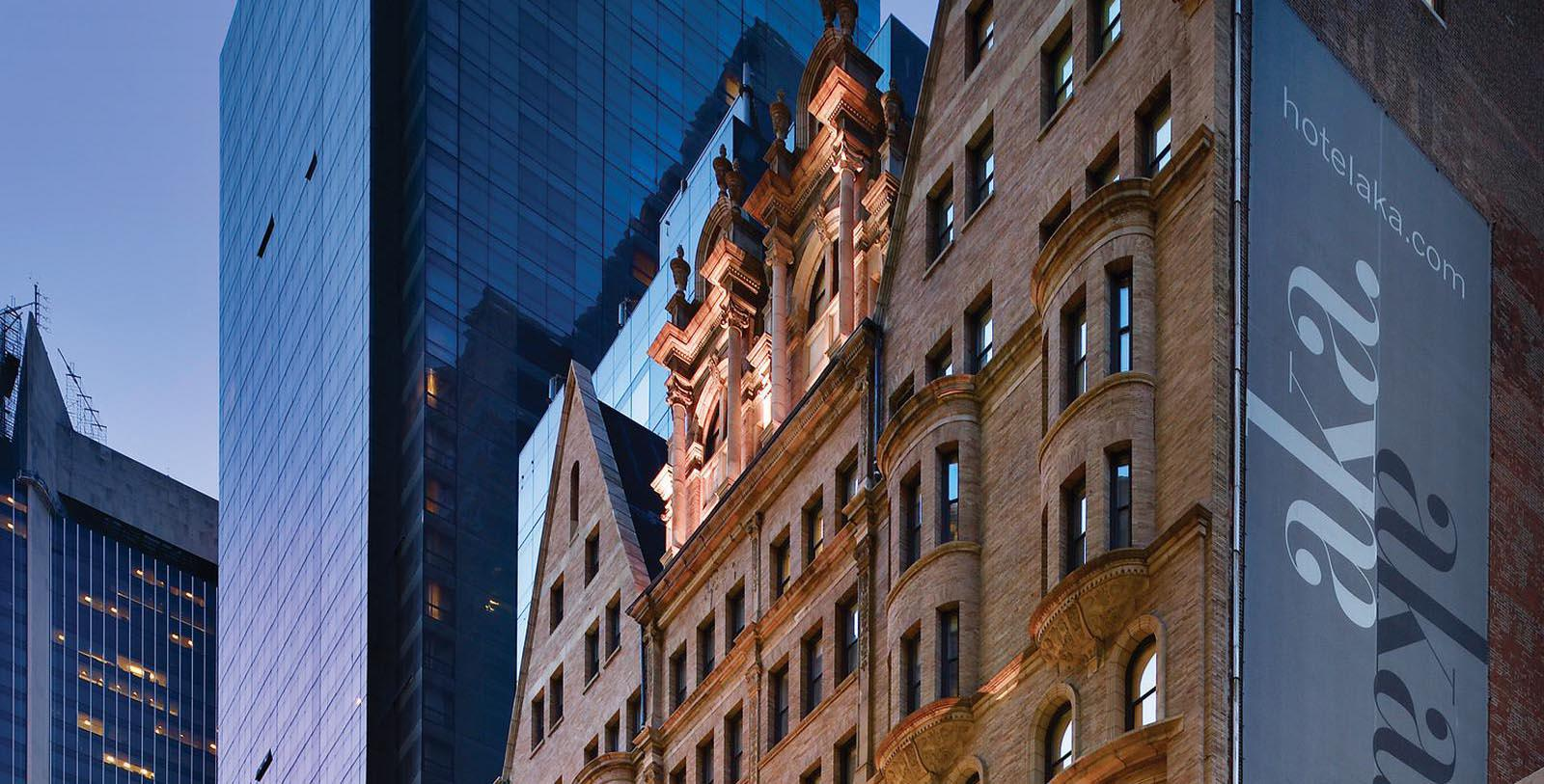 Image of Hotel Exterior at AKA Times Square, 1893 Member of Historic Hotels of America, in New York, New York, Special Offers, Discounted Rates, Families, Romantic Escape, Honeymoons, Anniversaries, Reunions