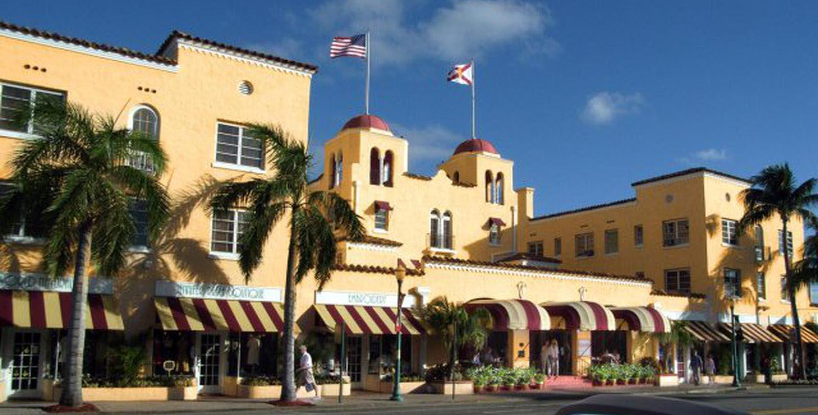 Image of Hotel Exterior at Colony Hotel & Cabana Club, 1926, Member of Historic Hotels of America, in Delray Beach, Florida, Special Offers, Discounted Rates, Families, Romantic Escape, Honeymoons, Anniversaries, Reunions