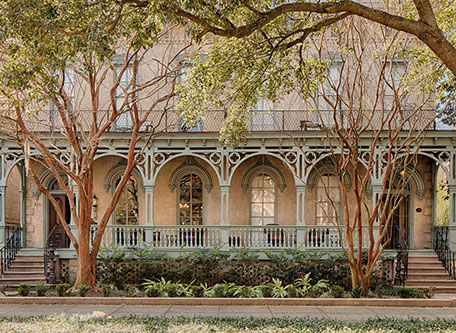 Image of Hotel Exterior, Bellwether House, 1876, Member of Historic Hotels of America, Savannah, Georgia, Special Offers, Discounted Rates, Families, Romantic Escape, Honeymoons, Anniversaries, Reunions