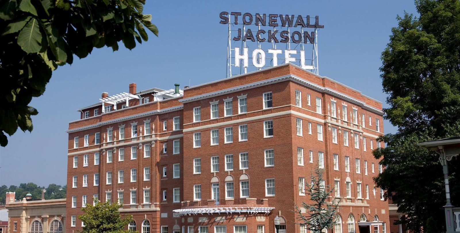 Image of Exterior Stonewall Jackson Hotel & Conference Center, 1924, Member of Historic Hotels of America, in Staunton, Virginia, Special Offers, Discounted Rates, Families, Romantic Escape, Honeymoons, Anniversaries, Reunions