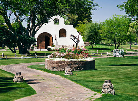 Image of hotel exterior Tubac Golf Resort and Spa, 1959, Member of Historic Hotels of America, in Tubac, Arizona, Special Offers, Discounted Rates, Families, Romantic Escape, Honeymoons, Anniversaries, Reunions