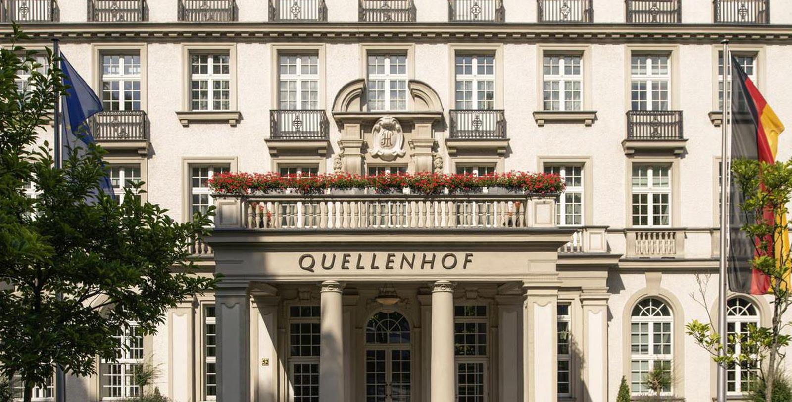 Image of Exterior, Hotel Pullman Aachen Quellenhof, Aachen, Germany, 1916, Member of Historic Hotels Worldwide, Discover