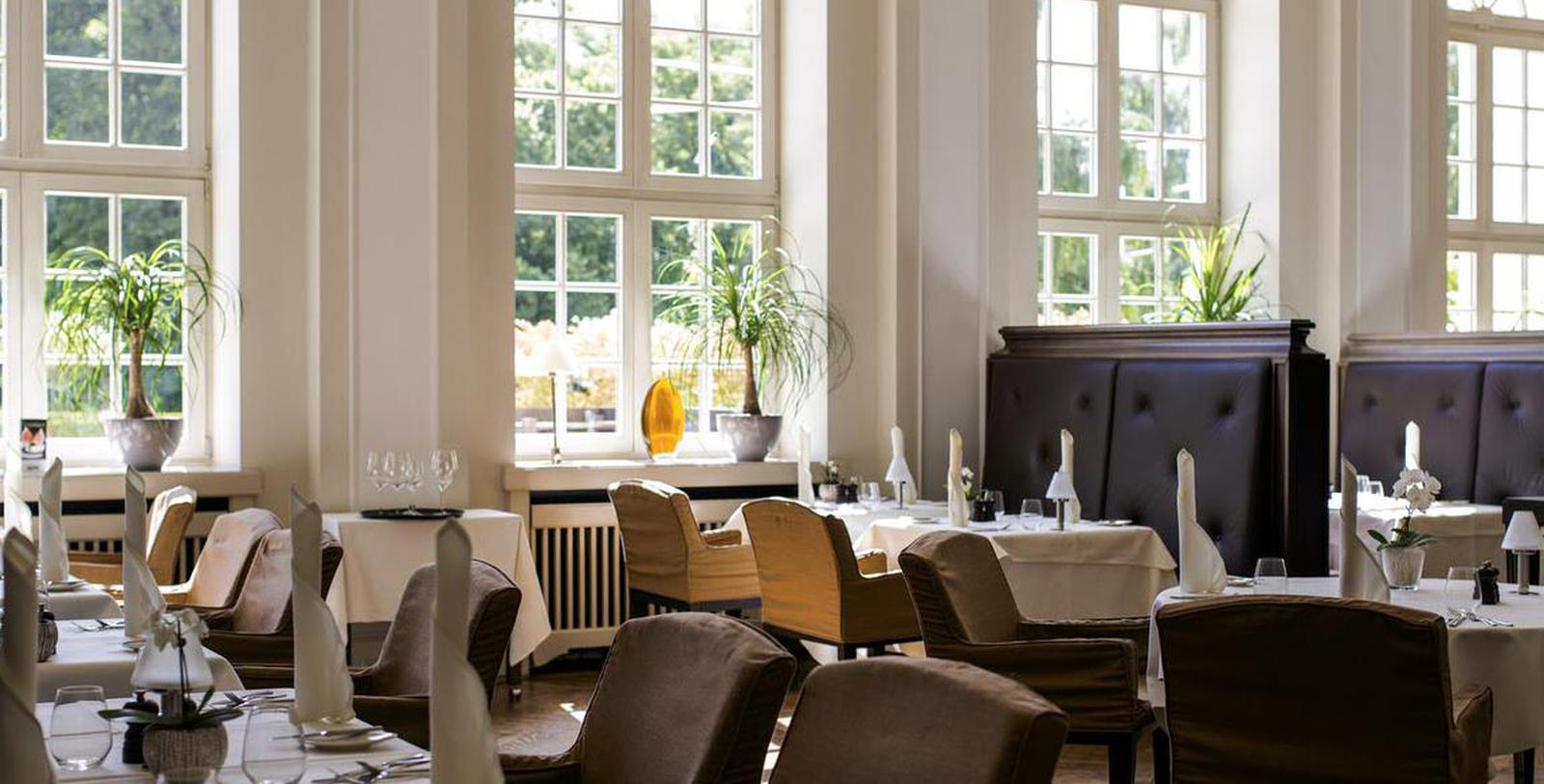 Image of La Brasserie, Hotel Pullman Aachen Quellenhof, Aachen, Germany, 1916, Member of Historic Hotels Worldwide, Taste