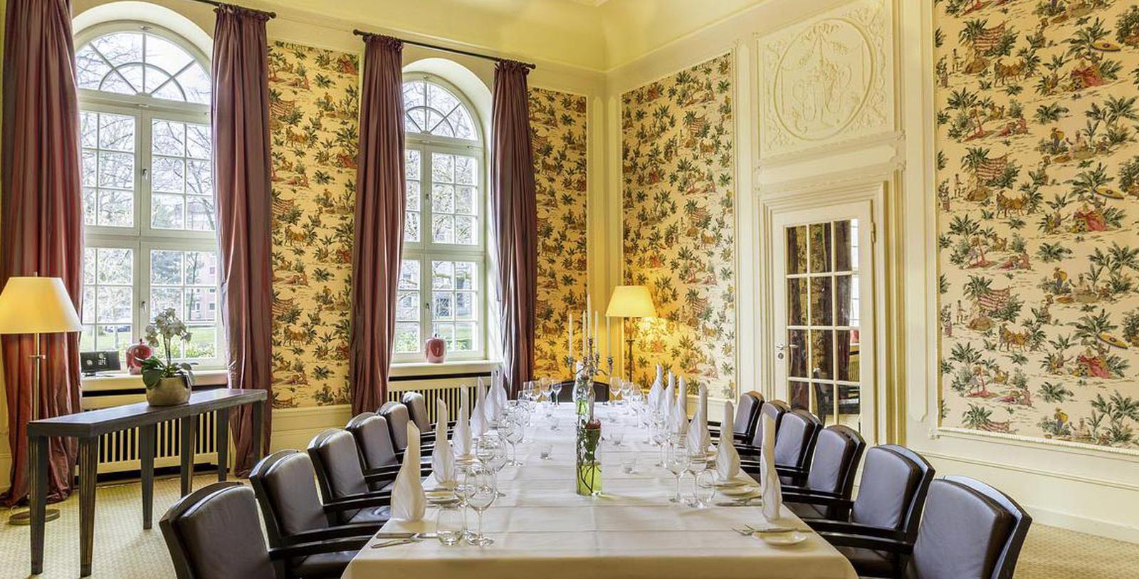 Image of Boardroom, Hotel Pullman Aachen Quellenhof, Aachen, Germany, 1916, Member of Historic Hotels Worldwide, Experience