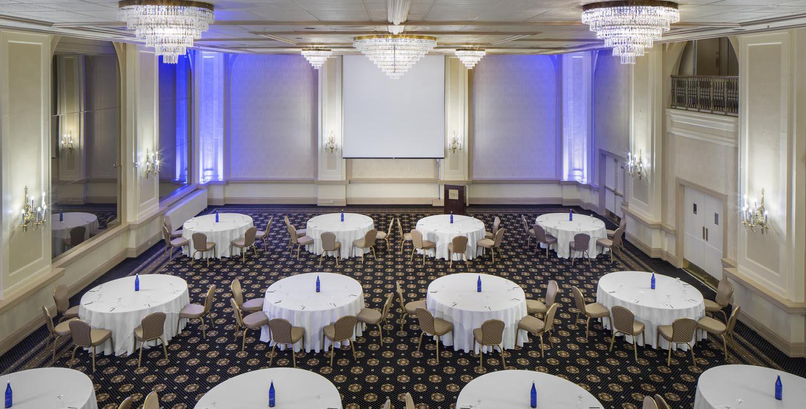 Image of Hotel Ballroom, Historic Hotel Bethlehem in Bethlehem, Pennsylvania, 1922, Member of Historic Hotels of America, Special Occasions