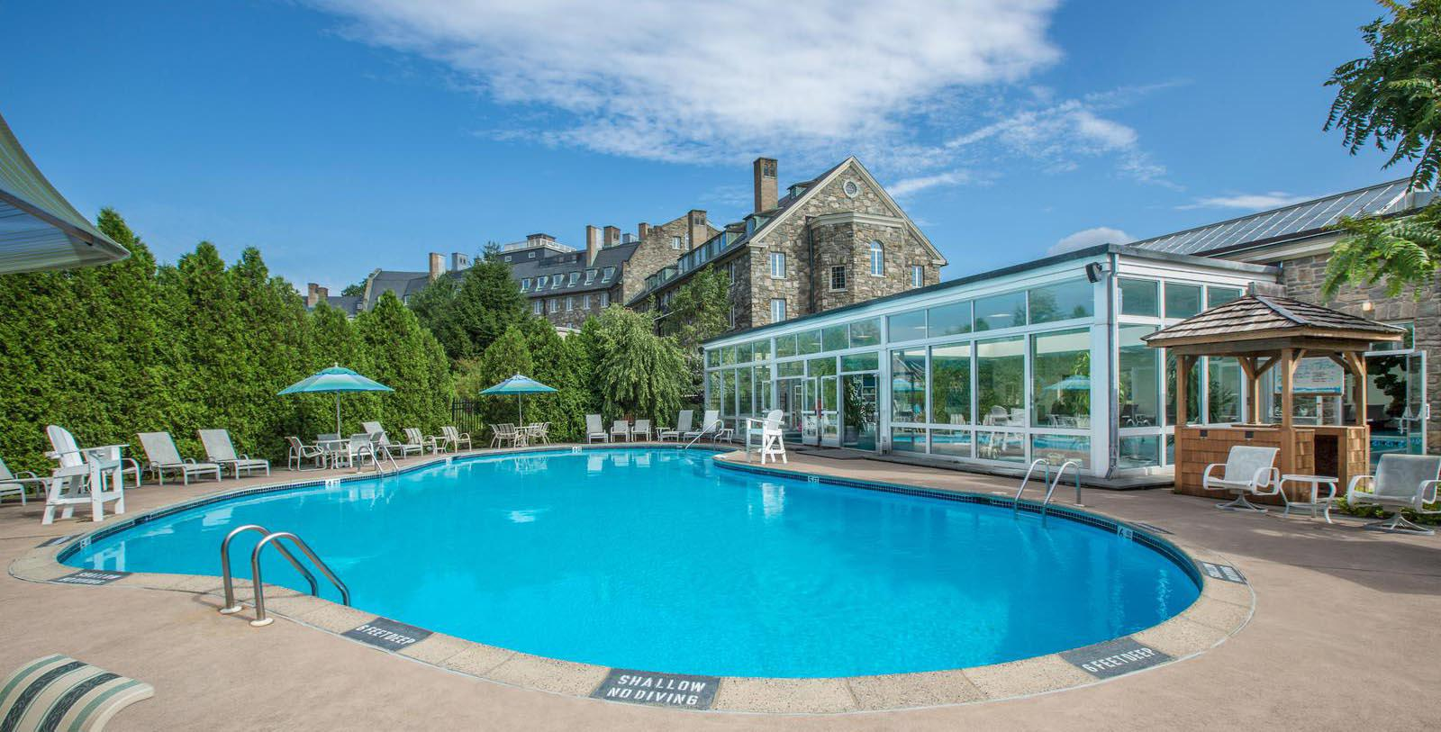 Image of Pool Skytop Lodge, 1928, Member of Historic Hotels of America, in Skytop, Pennsylvania, Explore