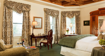 Accommodations:      The Sayre Mansion  in Bethlehem