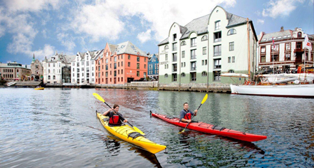 Activities:      Hotel Brosundet  in Alesund