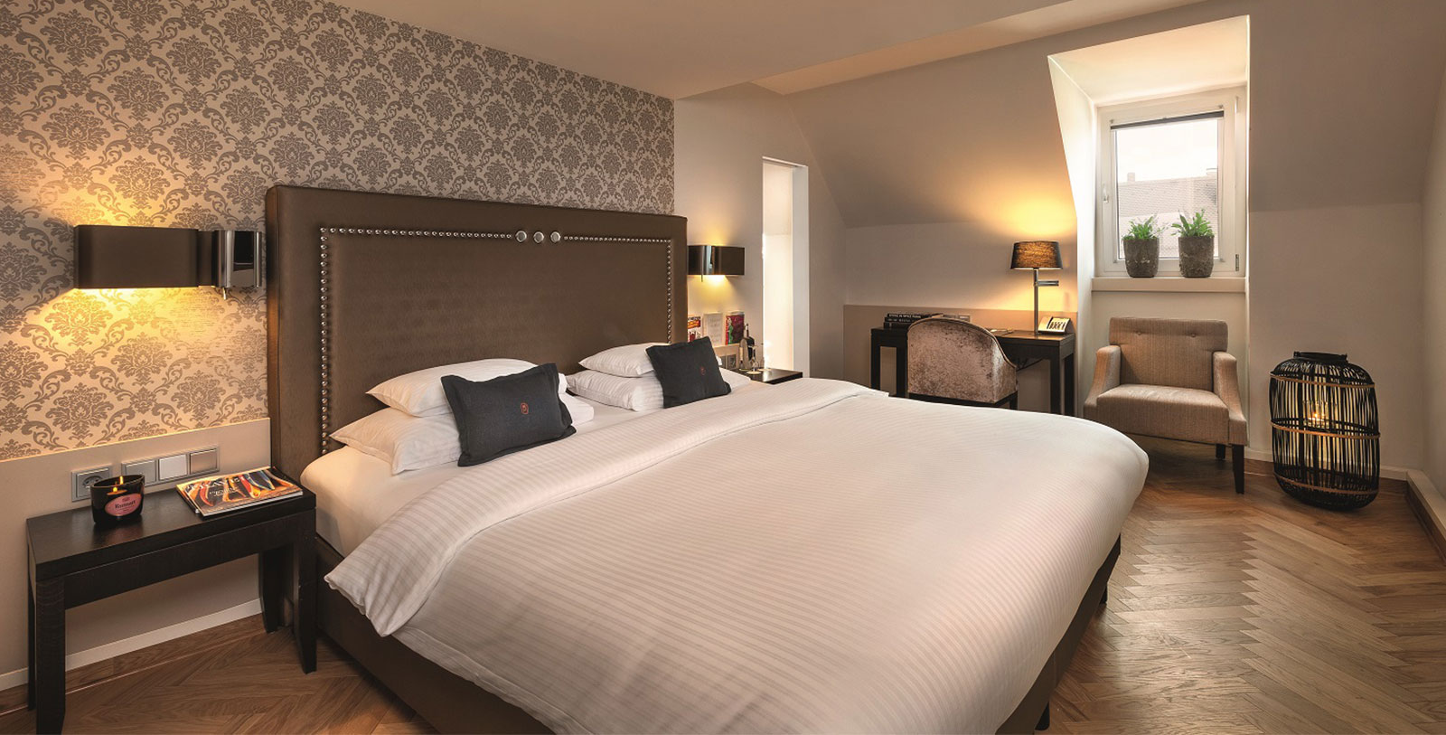 Image of Classic Room Hotel Maximilian's, 1722, Member of Historic Hotels Worldwide, in Augsburg, Germany, Accommodations