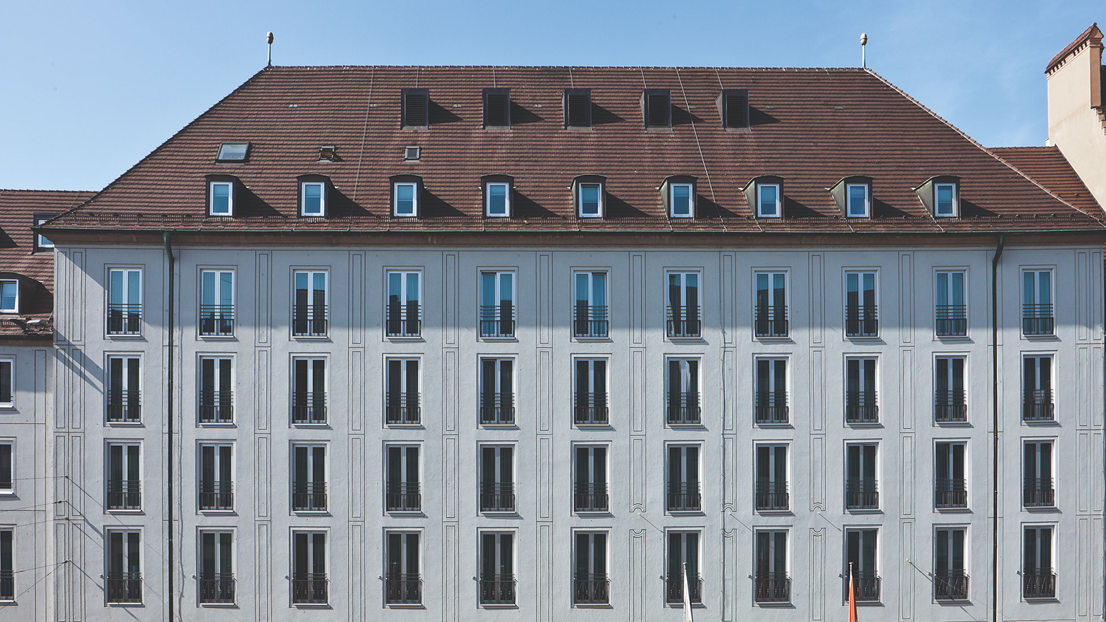 Image of Exterior Hotel Maximilian's, 1722, Member of Historic Hotels Worldwide, in Augsburg, Germany, Overview