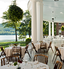 Dining at      The Otesaga Hotel and Cooper Inn  in Cooperstown