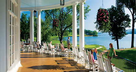 The Otesaga Hotel And Cooper Inn In Cooperstown