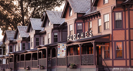 The Porches Inn in North Adams