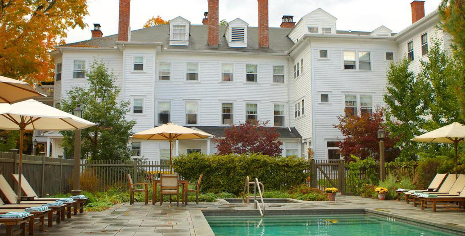 Image of Outdoor Pool and Hot Tub at The Red Lion Inn, 1773, Member of Historic Hotels of America, in Stockbridge, Massachusetts, Hot Deals