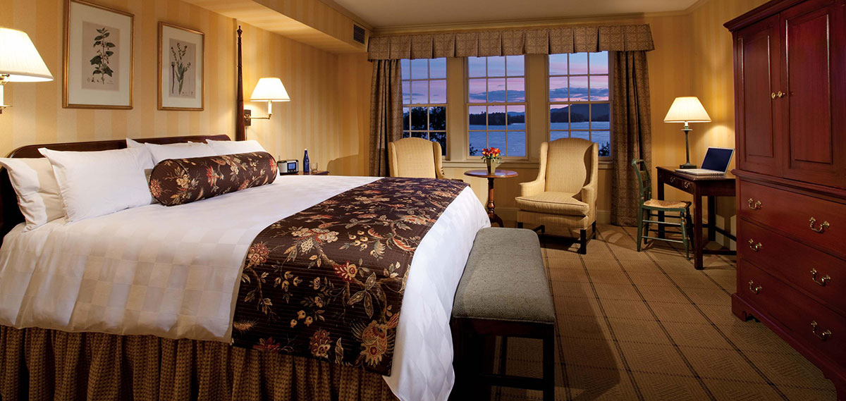 Accommodations:      The Sagamore  in Bolton Landing