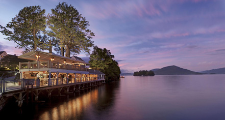 Dining at      The Sagamore Resort  in Bolton Landing
