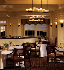 Dining at      The Sagamore  in Bolton Landing