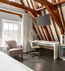Accommodations:      NH Collection Amsterdam Barbizon Palace  in Amsterdam