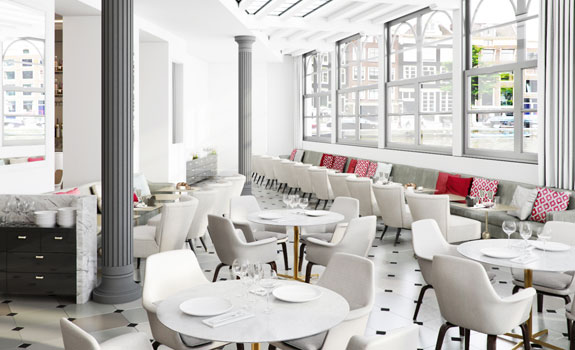 NH Collection Amsterdam Doelen  - Dining