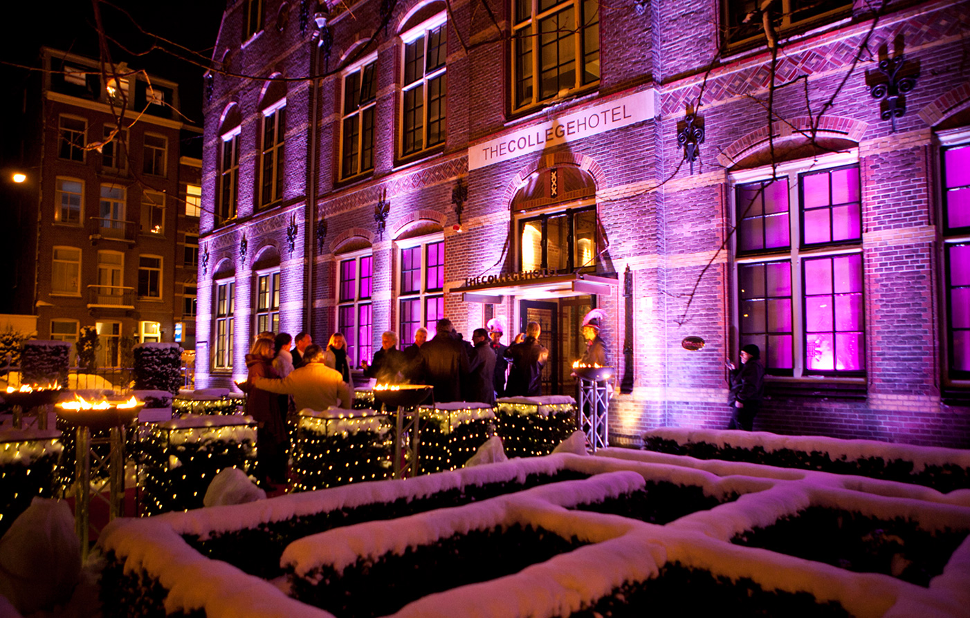 Luxury Hotels In Amsterdam Netherlands The College Hotel