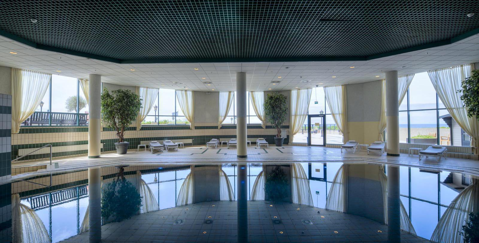 Image of Indoor Pool, Grand Hotel Huis ter Duin, Noordwijk aan Zee, Netherlands, 1885, Member of Historic Hotels Worldwide, Explore