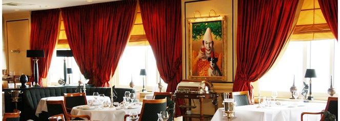 Dining at      Grand Hotel Huis ter Duin  in Noordwijk aan Zee