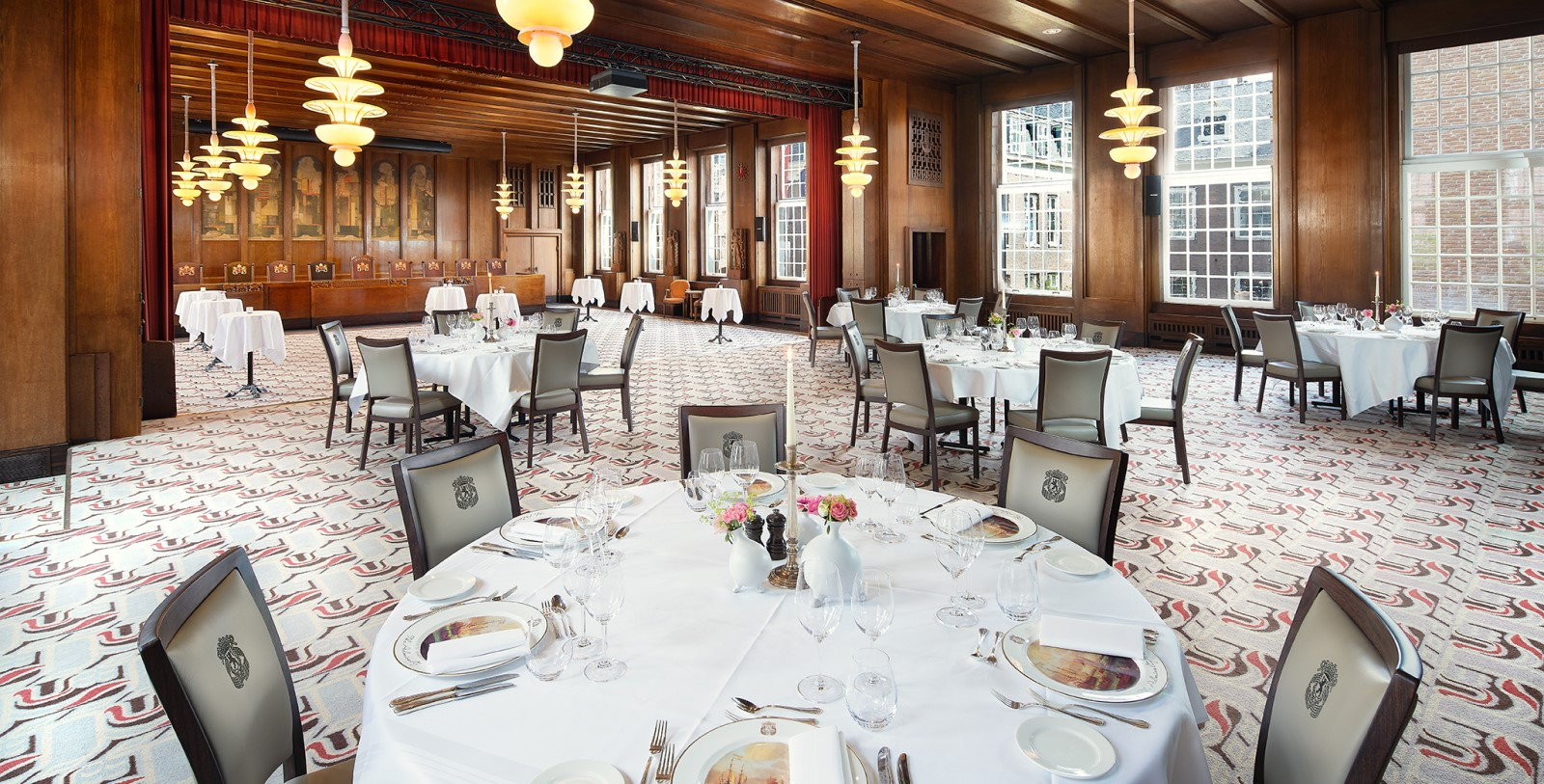 Image of the Council Chamber Room at Sofitel Legend The Grand Amsterdam, 1578, Member of Historic Hotels Worldwide, in Amsterdam, Netherlands, Special Occasions