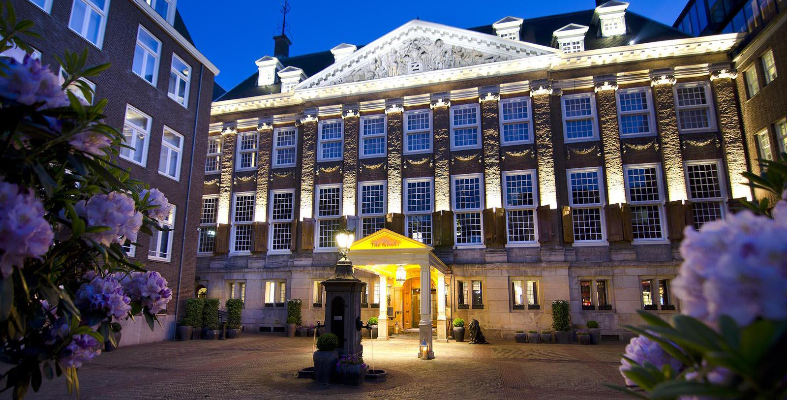 Image of Hotel Exterior Sofitel Legend The Grand Amsterdam, 1578, Member of Historic Hotels Worldwide, in Amsterdam, Netherlands, Special Offers, Discounted Rates, Families, Romantic Escape, Honeymoons, Anniversaries, Reunions