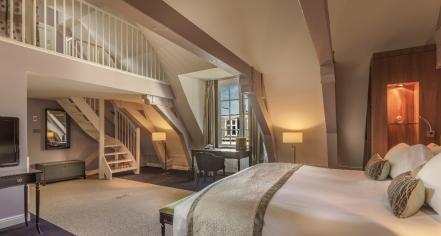Accommodations:      Sofitel Legend The Grand Amsterdam  in Amsterdam