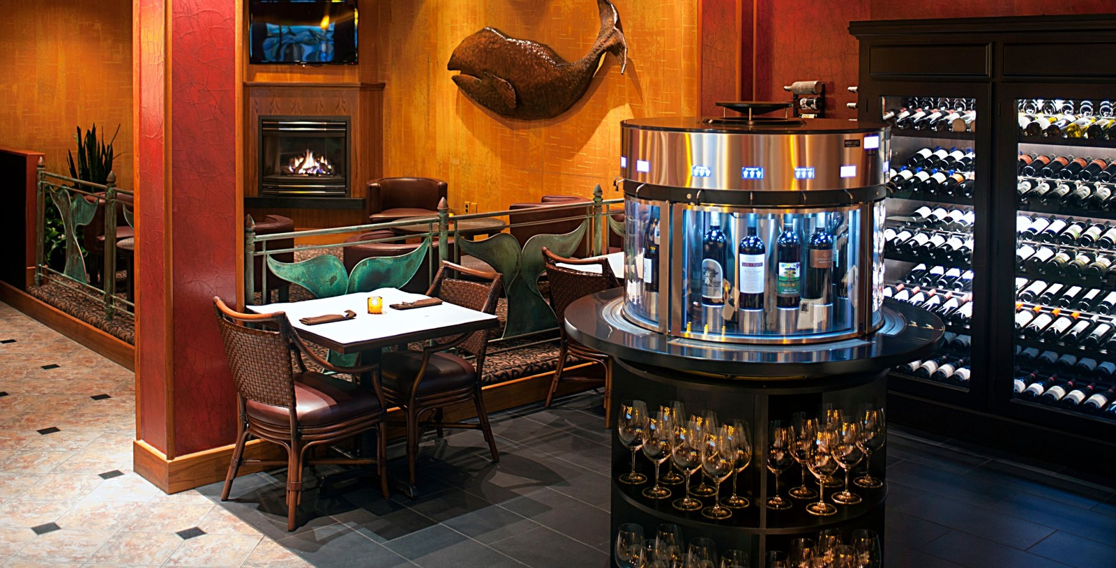 Image Of Whale's Tail Wine Bar Hotel Captain Cook Anchorage Alaska, Dining