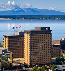 History:      Hotel Captain Cook  in Anchorage