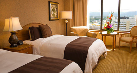 Accommodations:      Hotel Captain Cook  in Anchorage