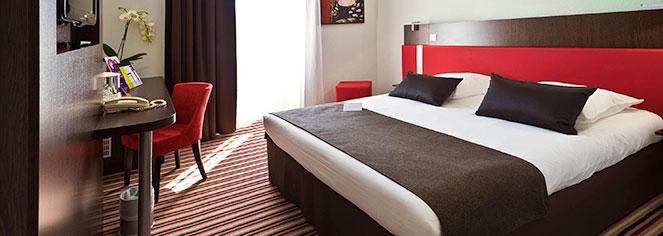 Accommodations:      Mercure Angoulême Hôtel de France  in Angouleme
