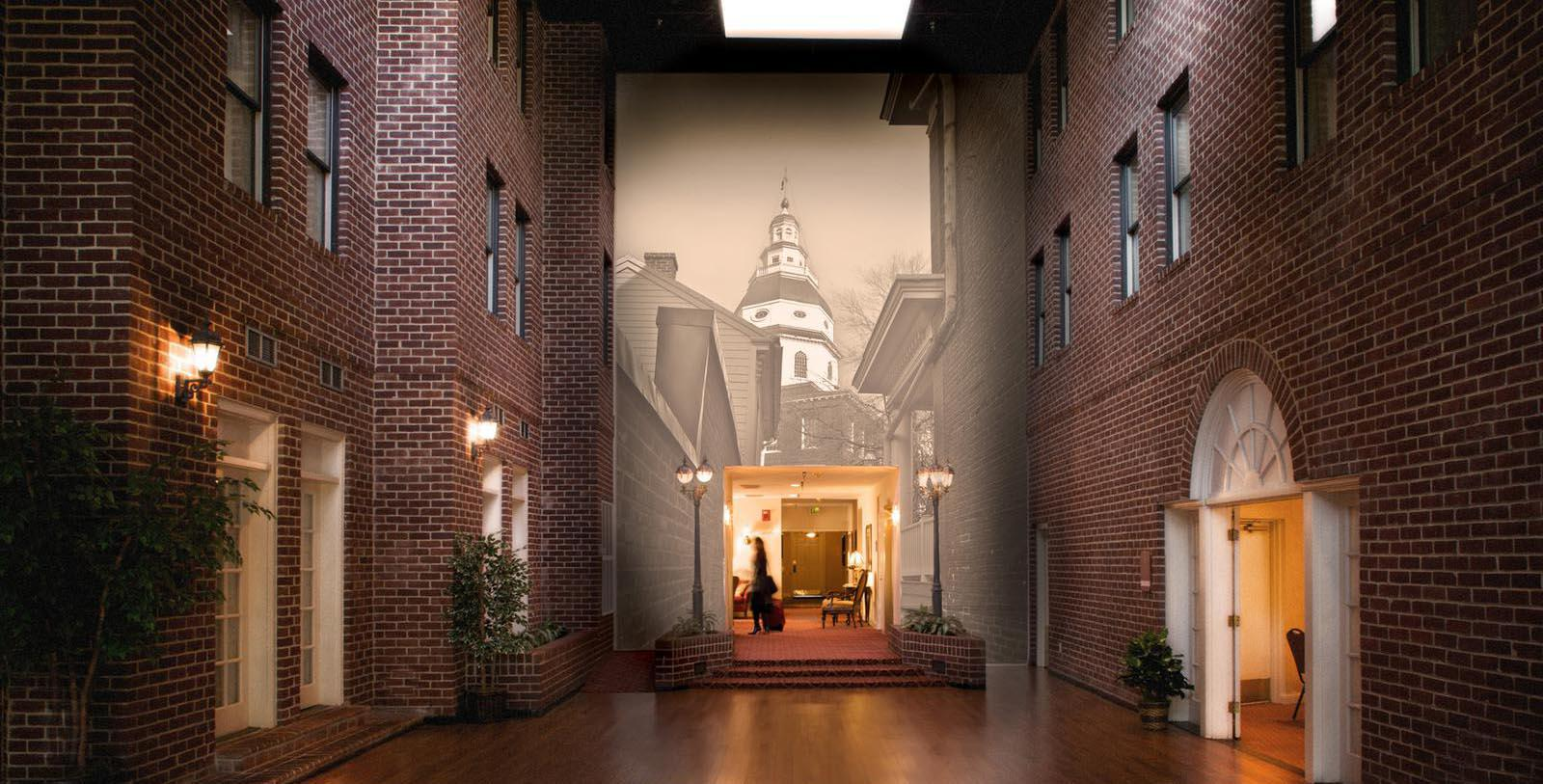 Image of Lobby, Historic Inns of Annapolis in Annapolis, Maryland, 1727, Member of Historic Hotels of America, DIscover