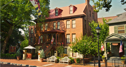 Event Calendar:      Historic Inns of Annapolis  in Annapolis