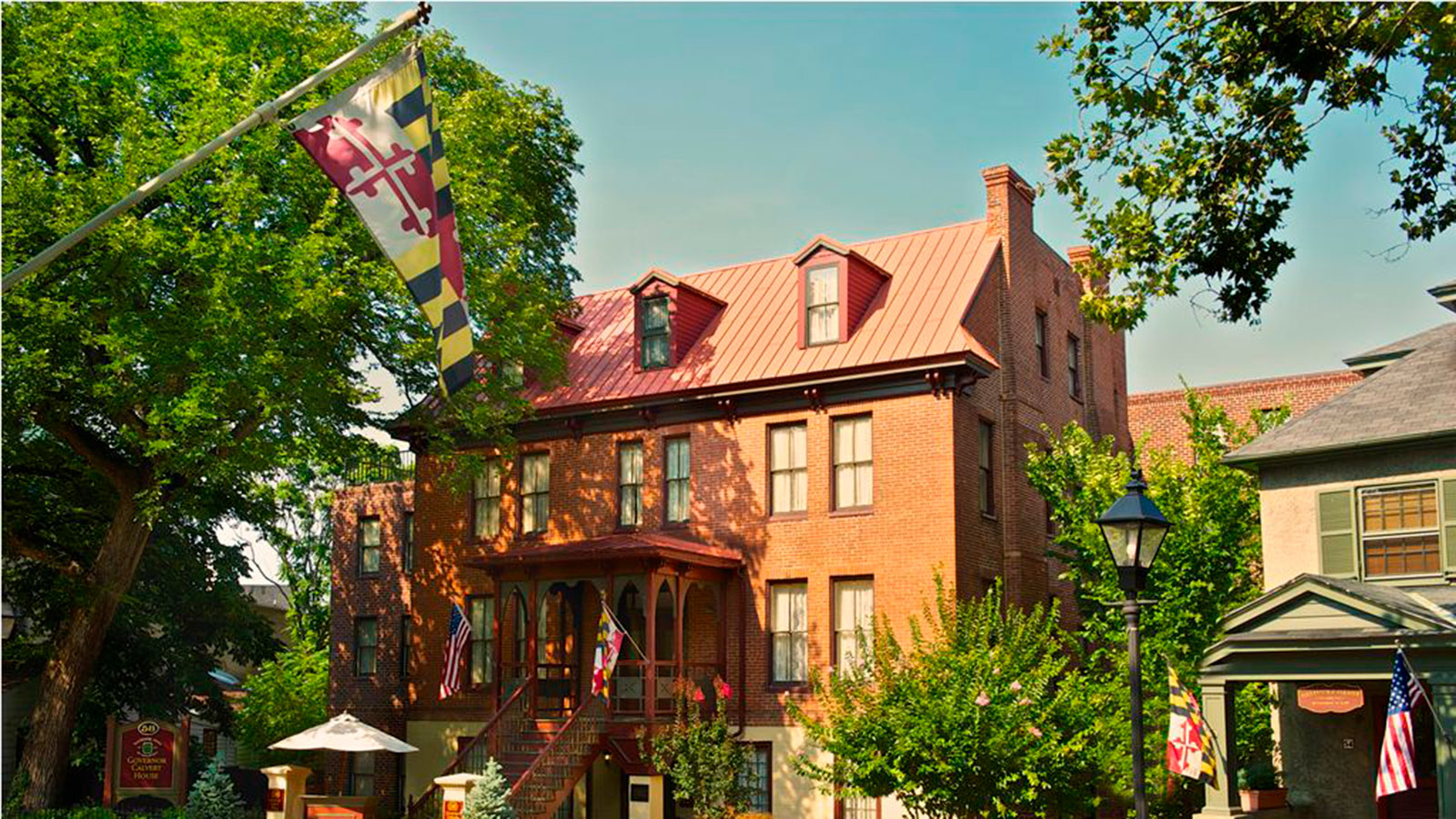 Image of Hotel Exterior, Historic Inns of Annapolis in Annapolis, Maryland, 1727, Member of Historic Hotels of America, Overview