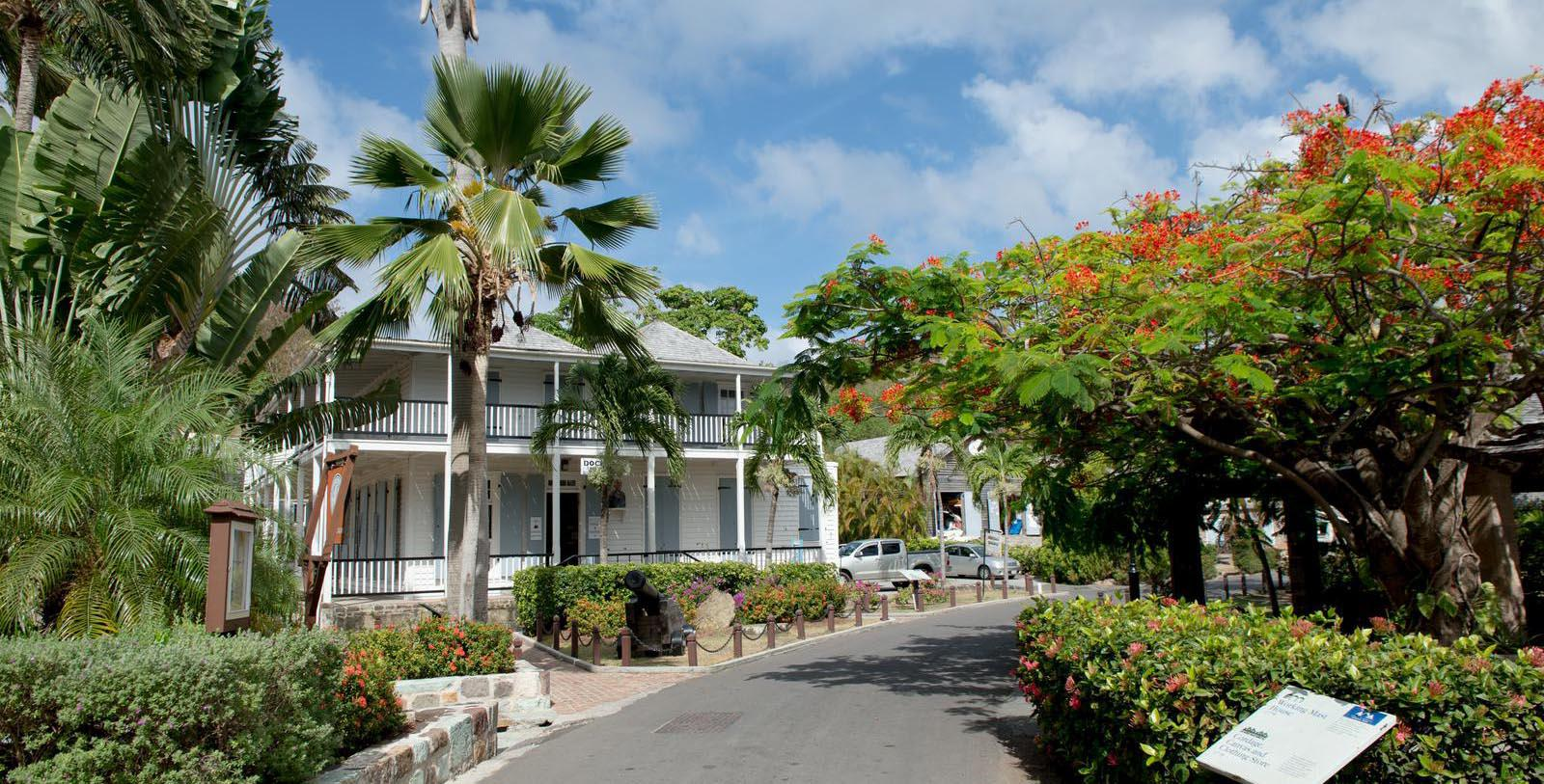 Image of hotel exterior Copper and Lumber Store Historic Inn, 1789, Member of Historic Hotels Worldwide, in English Harbour, Antigua and Barbuda, Special Offers, Discounted Rates, Families, Romantic Escape, Honeymoons, Anniversaries, Reunions