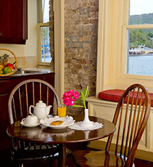 Accommodations:      Copper and Lumber Store Historic Inn  in English Harbour