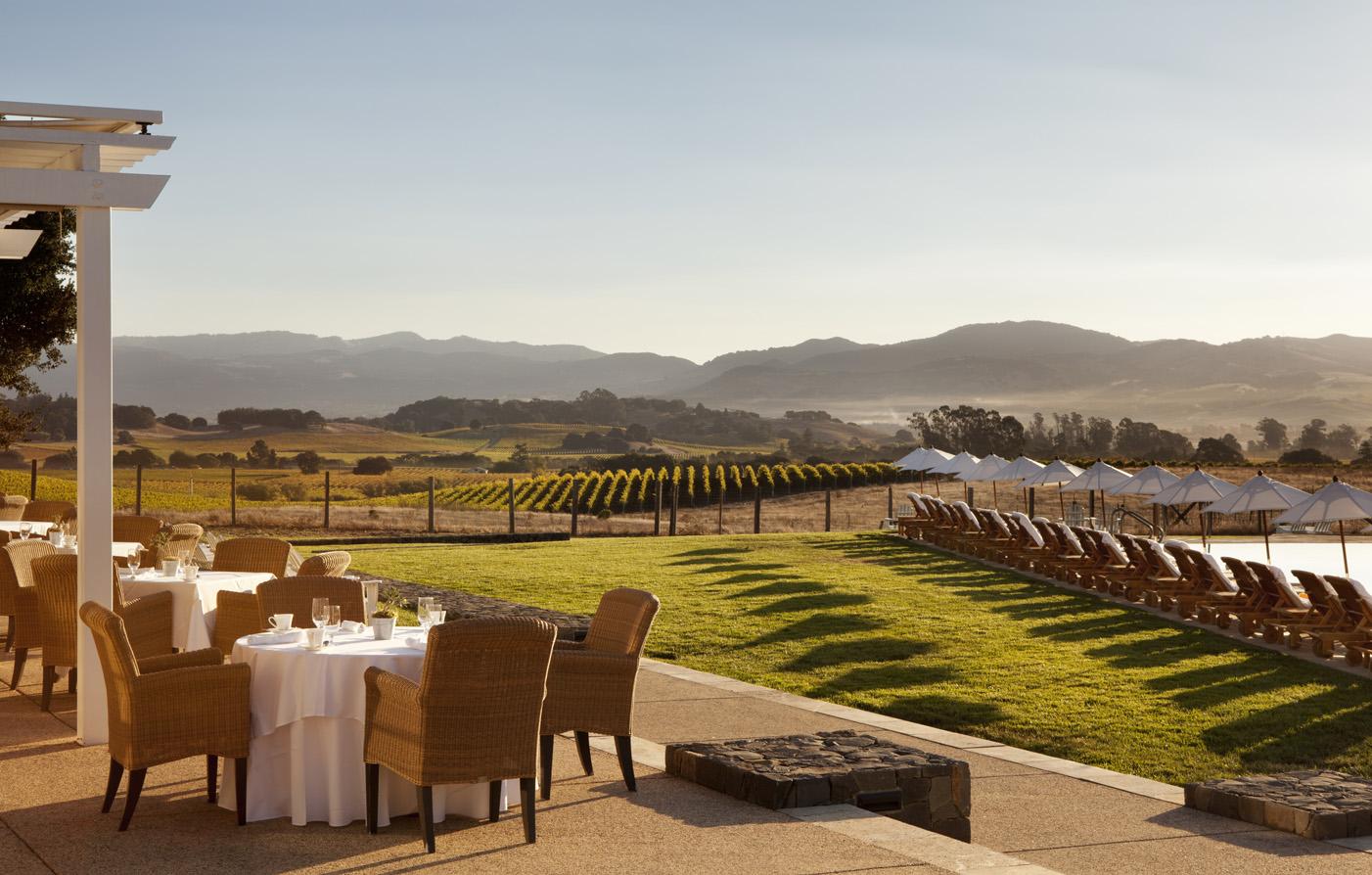 Luxury hotels in napa the carneros inn luxury hotels for Carneros inn napa valley