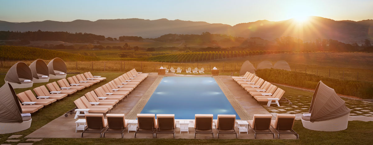 The Carneros Inn  in Napa